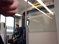 Masturbation, Jerking, Train