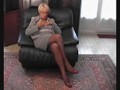 Amateur, French, Compilation, Stockings